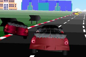 城市汽车大赛小游戏