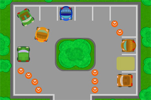 汽车停车场小游戏