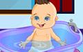 宝贝洗澡小游戏