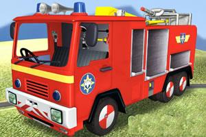 音乐消防车小游戏