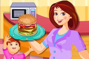 制作美味的汉堡龙8娱乐国际