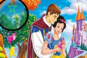 找星星的白雪公主小游戏