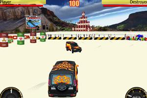 疯狂汽车碰撞小游戏