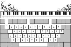 键盘小游戏