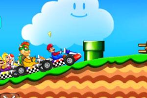 超级马里奥赛车小游戏