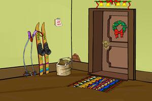 逃脱圣诞房间小游戏