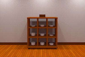 逃出盘子的房间小游戏
