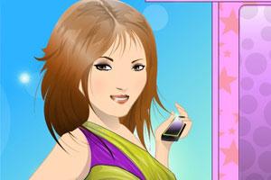 超闪的化妆女孩小游戏
