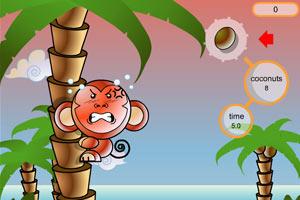 狂摇椰子树小游戏