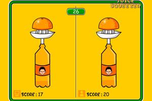 狂挤柳橙汁小游戏