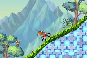 猫和老鼠摩托大赛小游戏