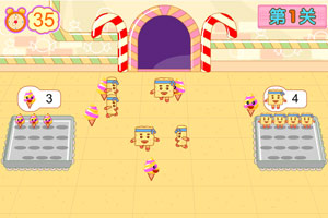 巧虎甜点工厂小游戏