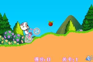 美羊羊骑车上学