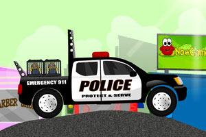 警车运送犯人小游戏
