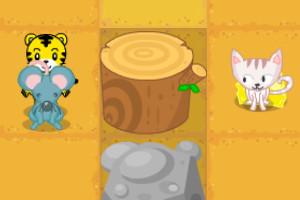巧虎和小老鼠闯迷宫小游戏