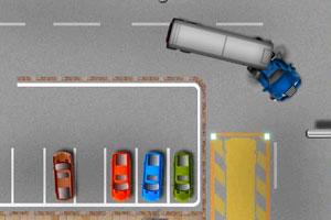 大卡车停车场小游戏