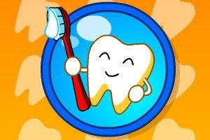 巧虎健康的牙齿小游戏
