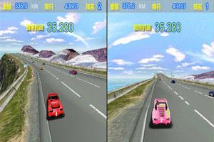 3D双人极速飙车小游戏