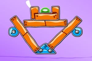 木块平衡小游戏