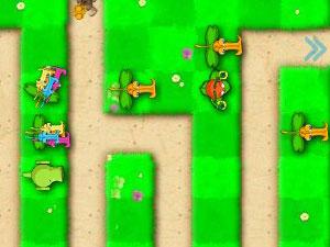 植物大战虫子小游戏