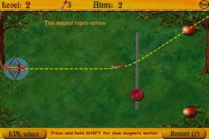 射箭的刺猬小游戏