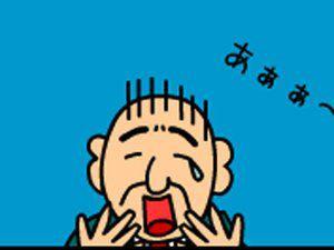 给秃头戴假发