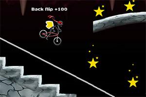 火柴人奇趣自行车3小游戏
