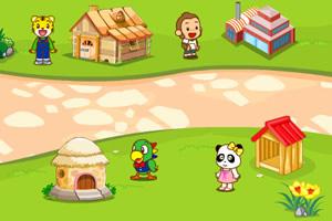 巧虎的美丽家园小游戏