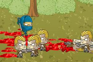 忍者黑手党之战2正式无敌版小游戏