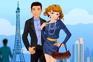 情人节巴黎约会小游戏