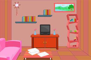 逃离休闲客厅小游戏