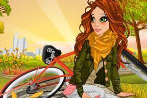 小游戏免费下载_【骑单车的女生】小游戏下载-骑单车的女生免费在线