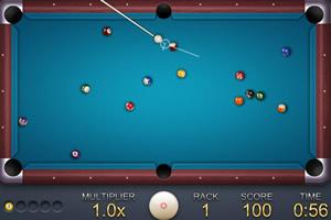 2D黑8台球小游戏