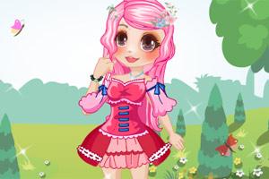 可爱小公主换装小游戏