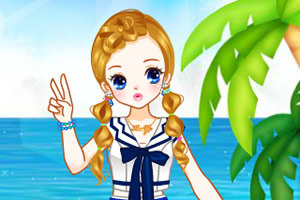 海洋风格服饰龙8娱乐国际