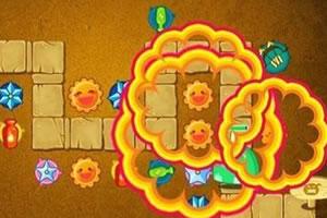 保卫萝卜沙漠模式