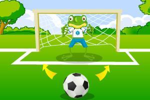 青蛙守门员图片