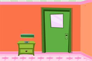 简陋橙色房间逃脱