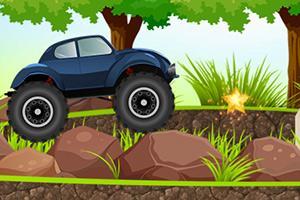岩石甲壳虫越野车