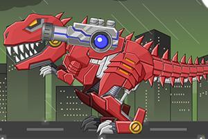 组装超级霸王龙