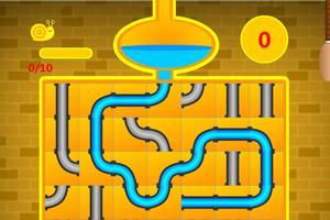 金色版接水管