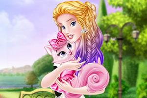 公主与猫咪