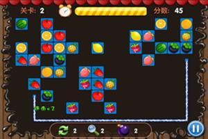水果连连看小游戏