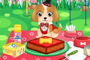 小萌犬过生日