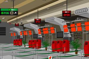 机场找行李