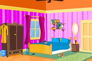 逃出明亮的卧室