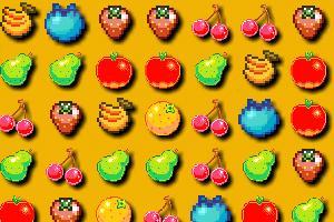 复古水果对对碰