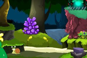 【逃离魔法绿色攻略】小游戏_逃离魔法森林森美国西海岸自由行绿色图片