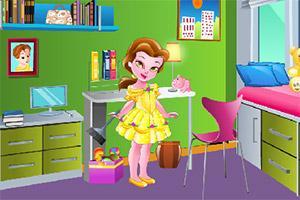 打掃公主的屋子_打掃公主寢室游戲管網_打掃公主閨房