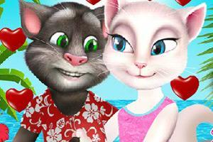 【汤姆猫和安吉拉度假】小游戏下载-汤姆猫和安吉拉玩